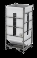 DFS150 - sistema de sitja flexible - alçada completa - sortida de base