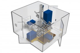 DP410 - Modular rotary palletizing and depalletizing component