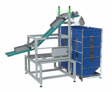 DSB300 - Tumble pack loading unit for silos