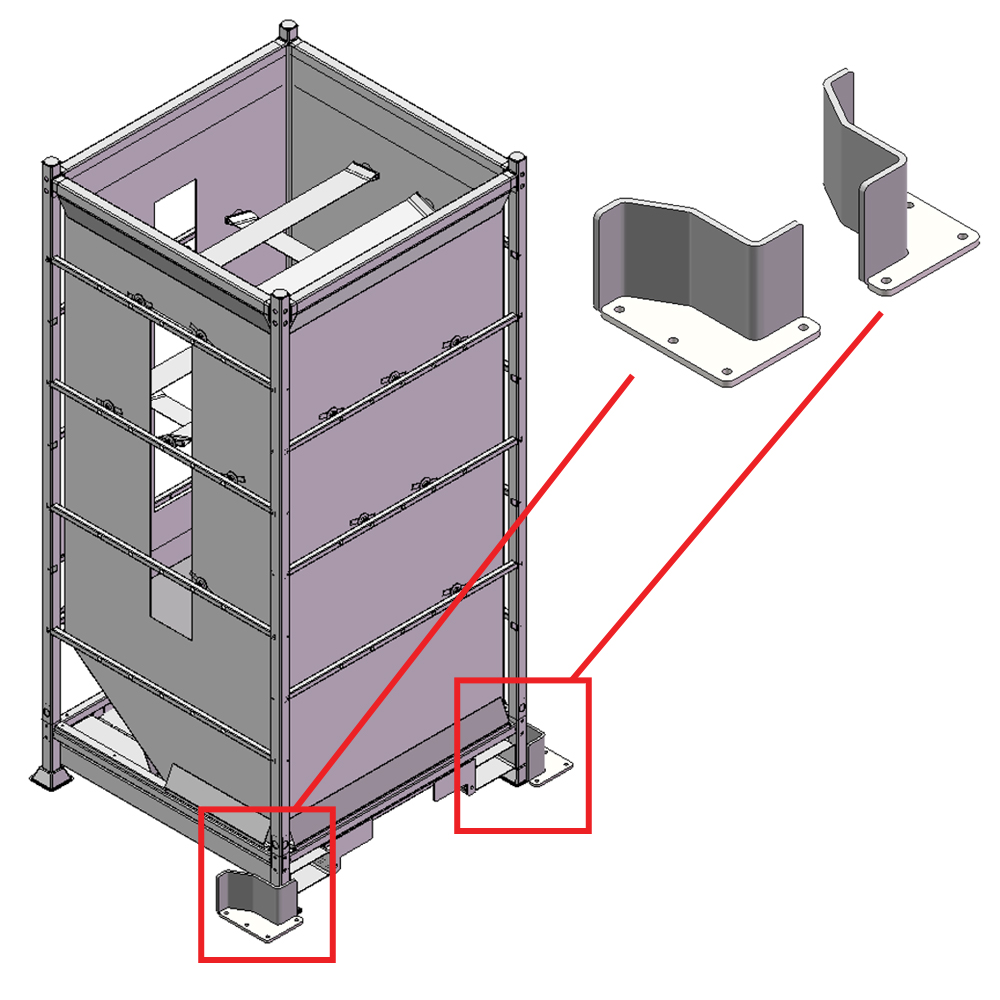 DSS001 - marc centrador de sitges flexibles