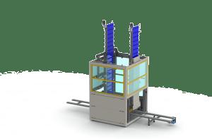 DTM212 - Full height tray warehouse