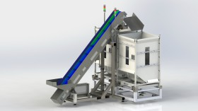 DSB250 - Tumble pack - silo loading unit