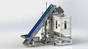 DSB250 - Tumble pack - unit loading silo