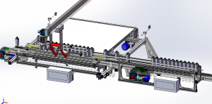 DRF100 - Row forming unit