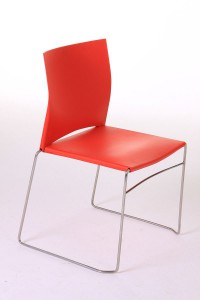 A polypropylene chair