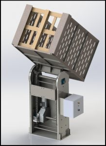 DEP100 - sistem za istovar palete